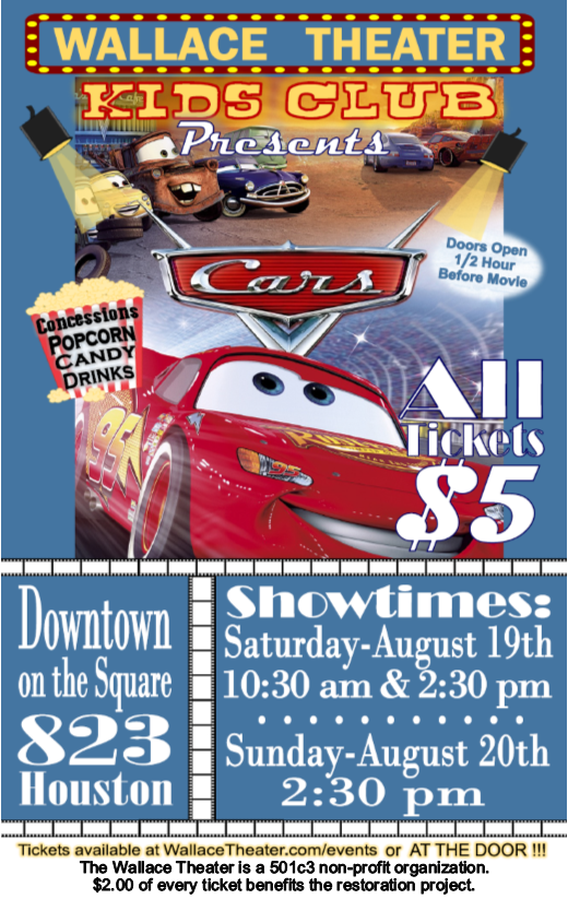Cars Flyer