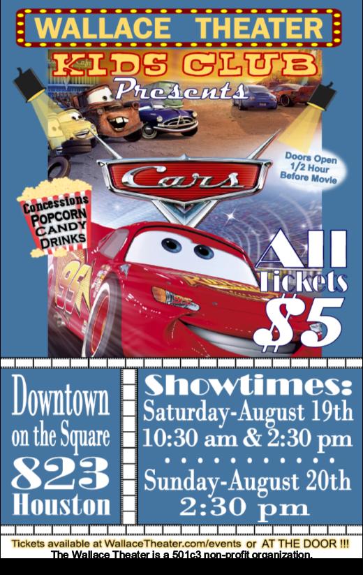 Cars Flyer